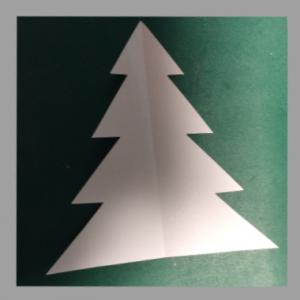 ツリー型紙