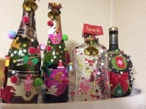 クリスマスツリー 瓶