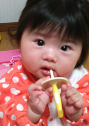 赤ちゃんの歯磨き